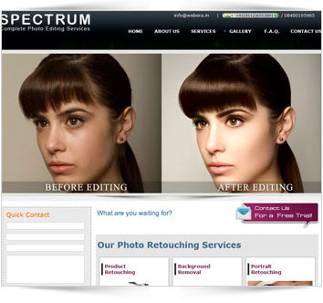 Spectrum - Complete Photo Editing Services
