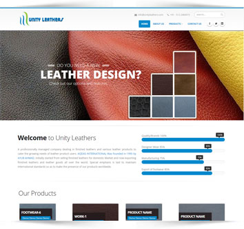 Unity Leathers - Leather Manufacturer & Exporter